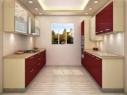 parallel shaped kitchen kitchen cabinets modern kitchen interior