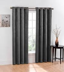amazon com 2 piece blackout window curtain grommet panels total