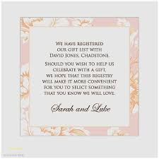 the gift registry wedding invitation wording gift list money awesome baby shower