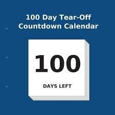 where can i buy a calendar booktopia 100 day tear countdown calendar by buy countdown