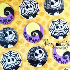 nightmare before christmas cupcake toppers nightmare before christmas cupcake toppers cakecentral