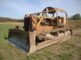 1967 caterpillar d8h crawler tractor used real monsters heavy