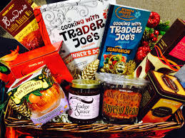 trader joe u0027s gift baskets easy and fun for the holidays