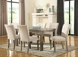 7 pc dining room sets dining chairs trendy pink dining room set a pair of chairs