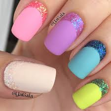 sparkly nail art diy with moving pictures directions tutorial