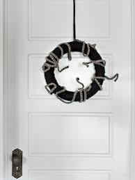 Black Halloween Wreath 8 Diy Fall Wreaths To Dress Up Your Front Door Hgtv U0027s Decorating