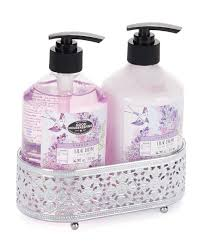 Stein Mart Bathroom Accessories by Lilac Dream Hand Soap U0026 Lotion With Caddy Bath U0026 Body Accessories