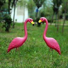 flamingo garden statues lawn ornaments ebay