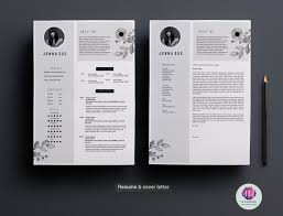 Sample Two Page Resume by Two Page Resume Template Resume Templates On Thehungryjpeg Com