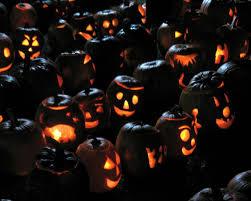 steam halloween background wallpaper halloween holiday pumpkin lights semi circle light