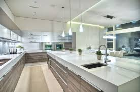 contemporary kitchen with quartz counters by poggenpohl us inc