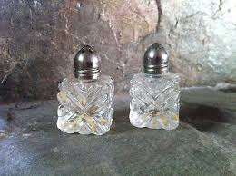 58 best vintage glass salt pepper shakers images on