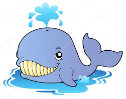 big cartoon whale u2014 stock vector clairev 4444353