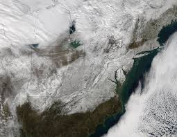 Show Me The Map Of The United States Of America by Nasa Provides A Look At Post Blizzard Snowfall And Winds Nasa