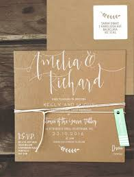 wedding invitations online australia simply sublime white ink on kraft invitation online australia