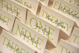 printable customized place cards special event wedding
