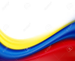 Red Blue Yellow Flag Yellow Blue And Red Flag On White Background Stock Photo Picture