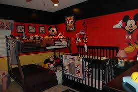 Mickey Mouse Baby Bedding Fabulous Baby Nursery Bedroom Mickey Mouse Theme Decoration Shows