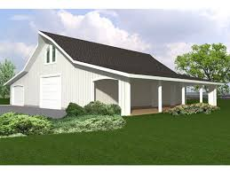 garage carport plans outbuilding plans outbuilding or garage plan with shop and covered