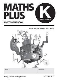 maths plus nsw syllabus student u0026 assessment book kindergarten