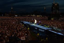 At Hyde Park Live At Hyde Park Reviewed A True Popstar In