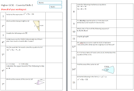 collections of gcse worksheets maths wedding ideas