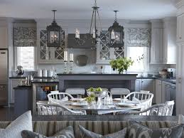 what color to paint two tone kitchen cabinets painting a two tone kitchen pictures ideas from hgtv hgtv