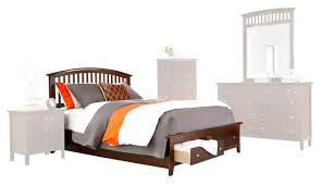 Contemporary Nightstand Ls Beds Malone Bed In Stock Delivery