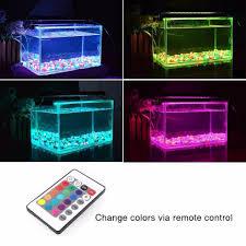 nicrew aquarium led lighting rgb led light with dimmable