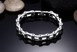 chain bracelet men images Fashion stainless steel bracelet men biker bicycle motorcycle jpg