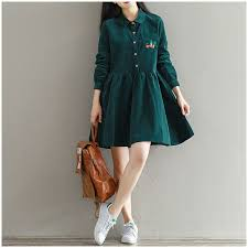 online buy wholesale womens corduroy dress from china womens