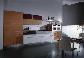 Modern Cherry Kitchen Cabinets Glossy White Kitchen Cabinets Orange And White Kitchen Design