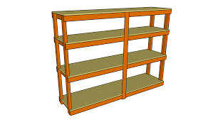 Wooden Shelves Making by Garage Shelving Plans Home Design By Larizza