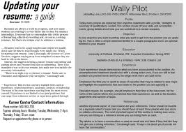 Resume Present Tense A Guide To Updating Your Resume The Beacon