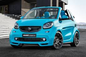 brabus brabus turns smart fortwo into ultimate 125 costing 43 000 auto