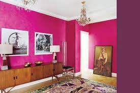 pink warm paint colors in the walls with white ceiling color
