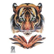 styles designs chines zodiac tattoos tiger totem