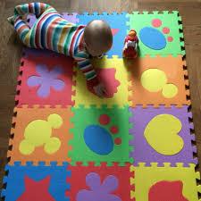 tappeti puzzle bambini 12 pz schiuma stuoia bambino tappetini puzzle di