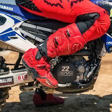 fox dirt bike boots fox racing flexair red moth limited edition motocross mx racewear
