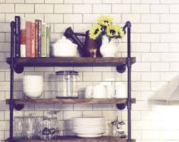 Galvanized Pipe Shelving by Pipe Shelves Etsy
