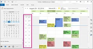 change calendar layout outlook 2013 change how you view your outlook calendar outlook