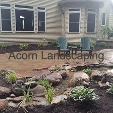 Backyard Waterfall Amazing Backyard Waterfall Fish Pond With Paver Patio