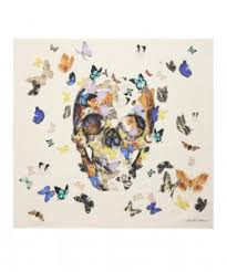 butterfly skull secret space gallery