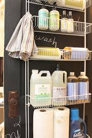 Storage For Laundry Room by My Sweet Savannah Laundry Room Organization