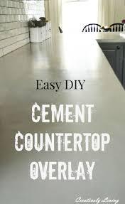 Diy Bathroom Countertop Ideas by 25 Best Cement Countertops Ideas On Pinterest Concrete Counter