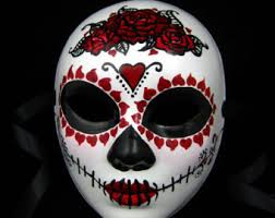 day of the dead masks viuda negra mask day of the dead faced mask with