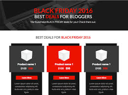 best deals for black friday 2016 make more sales on black friday with these landing page templates