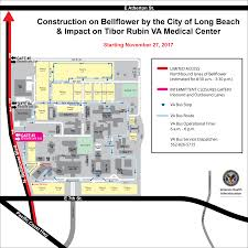 Map Of Long Beach Construction Updates Va Long Beach Healthcare System