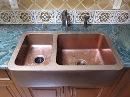 Undermount Porcelain Kitchen Sinks by Blue Porcelain Undermount Kitchen Sinks With Brown Steel Double