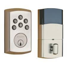 Baldwin Entrance Door Hardware Soho Electronic Deadbolt 8285 150 Ac1